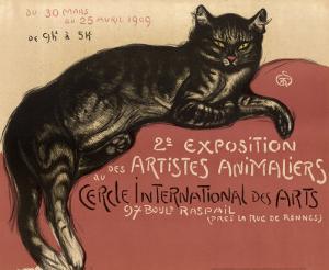 Cat by Théophile Alexandre Steinlen
