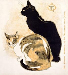 Cats by Théophile Alexandre Steinlen