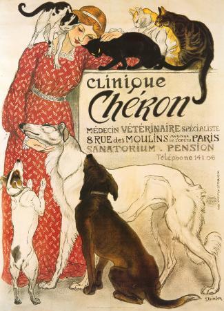 theophile-alexandre-steinlen-clinique-cheron-c-1905