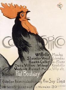 Cocorico by Théophile Alexandre Steinlen