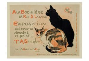 Exposition at Bodiniere by Théophile Alexandre Steinlen
