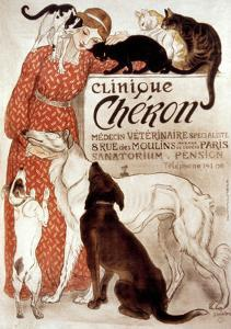 French Veterinary Clinic by Théophile Alexandre Steinlen