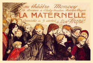 La Maternelle: Comedie en 3 Actes, c.1920 by Théophile Alexandre Steinlen