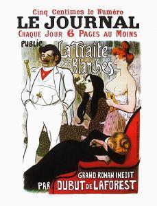 La traite des blanches by Théophile Alexandre Steinlen