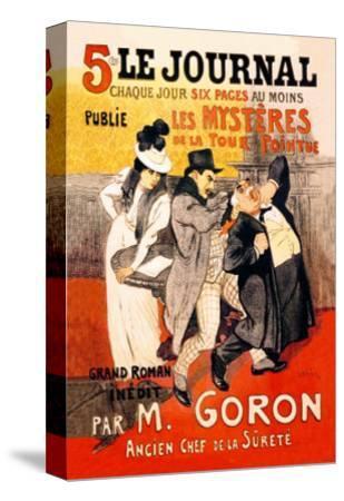 Le Journal: Les Mysteres de la Tour Pointue, c.1899