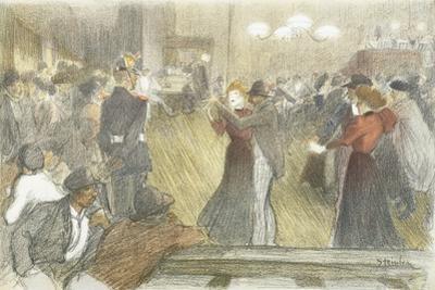 Local Dance, 1897-1899 by Théophile Alexandre Steinlen