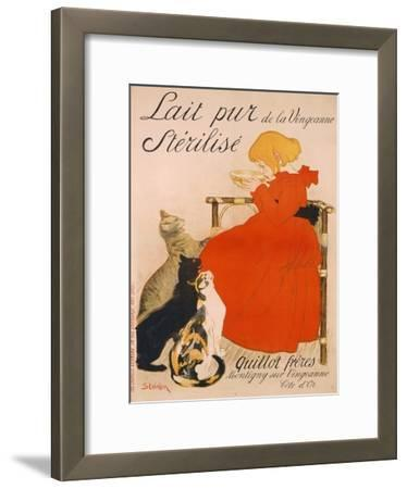 Poster advertising Milk, published by Charles Verneau, Paris, 1894