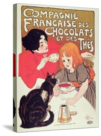 Poster Advertising the Compagnie Francaise Des Chocolats Et Des Thes, circa 1898