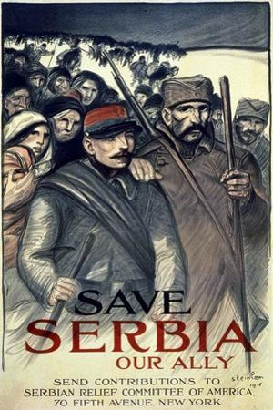 """Save Serbia, Our Ally"", 1916"