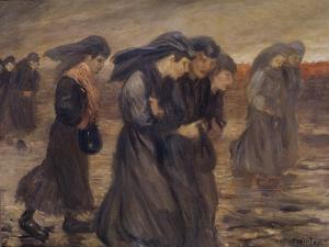 The Coal Graders, 1905 by Theophile Alexandre Steinlen