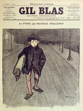 The Little Boy, from 'Gil Blas', 1897 (Colour Litho)