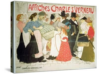 The Street, Poster For the Printer Charles Verneau, 1896