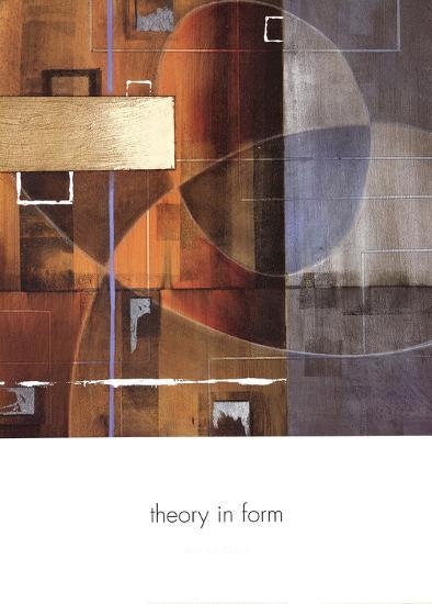 Theory in Form-Laurie Chase-Art Print