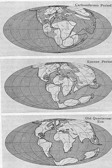 Theory of Continental Drift, 1922--Giclee Print