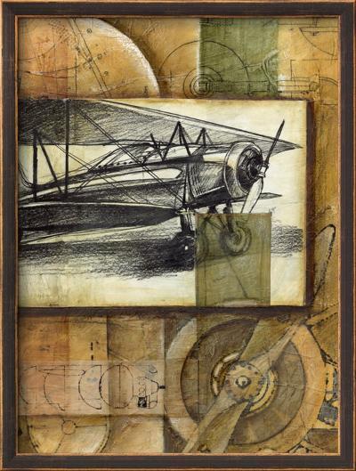 Theory of Flight I-Ethan Harper-Framed Art Print