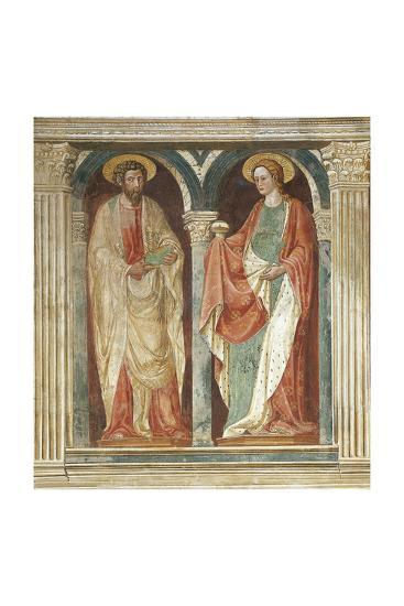 Theory of Saints, Fresco-Paolo Uccello-Giclee Print