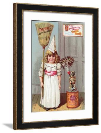 Thepure Baking Powder - Carry Arms--Framed Art Print