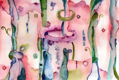 There are Many Paths to the Garden-Marilyn Cvitanic-Art Print
