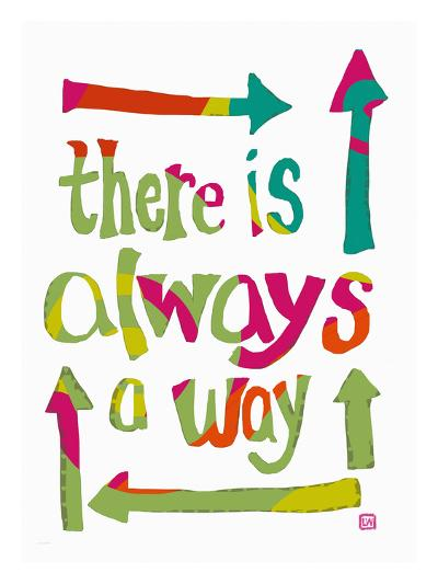 There is always a Way-Lisa Weedn-Giclee Print