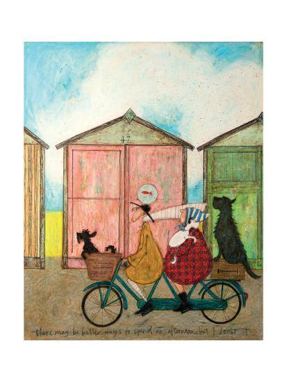 There may be Better Ways to Spend an Afternoon-Sam Toft-Art Print