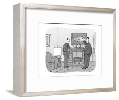 """""""There may be some lingering resentment."""" - New Yorker Cartoon-Peter C. Vey-Framed Premium Giclee Print"""