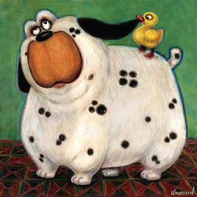 There's a Duck in My Ear-Kourosh-Art Print