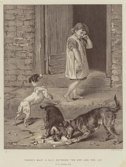 There's Many a Slip Between the Cup and the Lip-Briton Riviere-Giclee Print