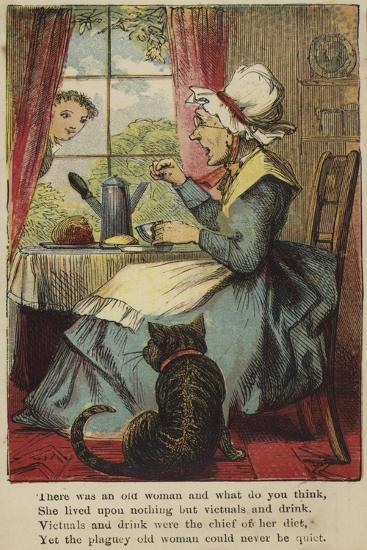 There Was an Old Woman and What Do You Think--Giclee Print