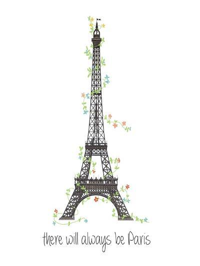 There Will Always Be Paris-Jan Weiss-Art Print