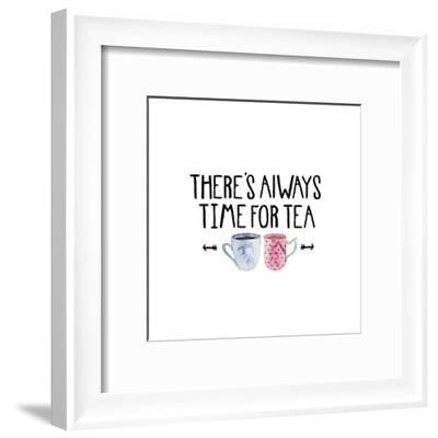 Theres Always Time For Tea-Elena O'Neill-Framed Art Print
