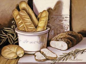 Bread Study by Theresa Kasun