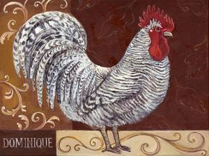 Rustic Roosters I by Theresa Kasun