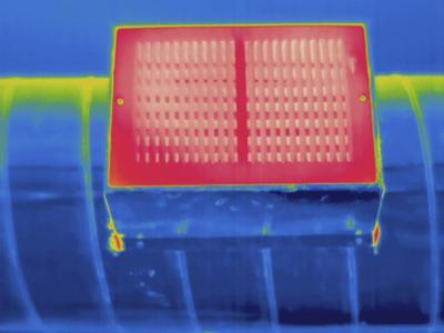 Thermogram - Heating Ducts-Scientifica-Photographic Print