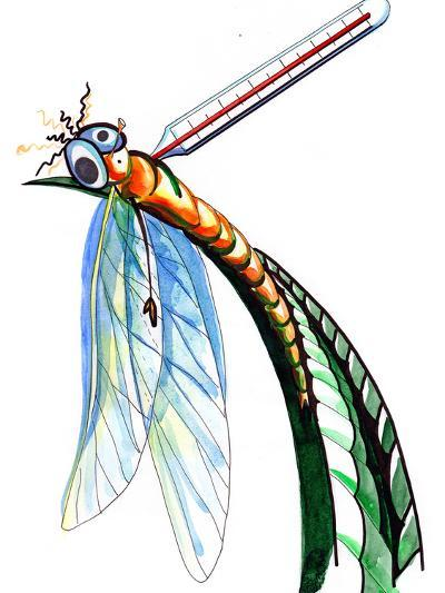Thermometer for Insects-okalinichenko-Art Print