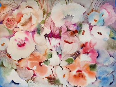 These Flowers are Fo Ryou-Neela Pushparaj-Giclee Print