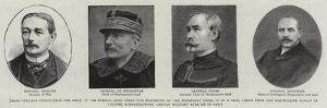 These Officers Constituted the Head of the French Army When the Fragments of the Bordereau Were