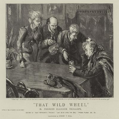 Thet Wild Wheel-Sydney Prior Hall-Giclee Print