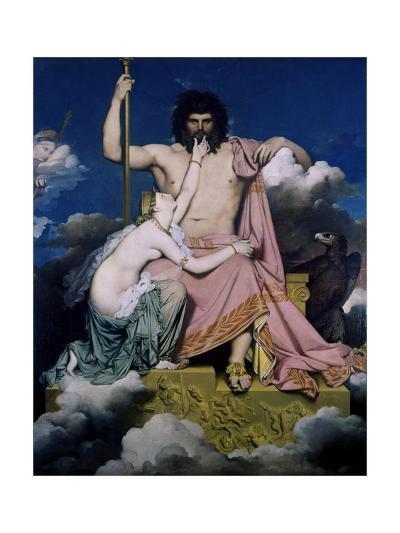 Thetis Begs Jupiter-Armand Guillaumin-Giclee Print