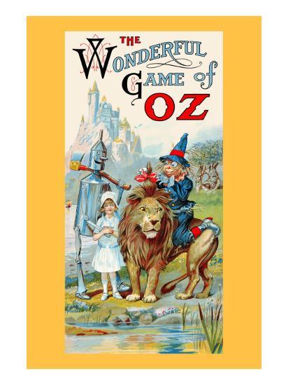 Thewonderful Game of Oz-John R^ Neill-Art Print