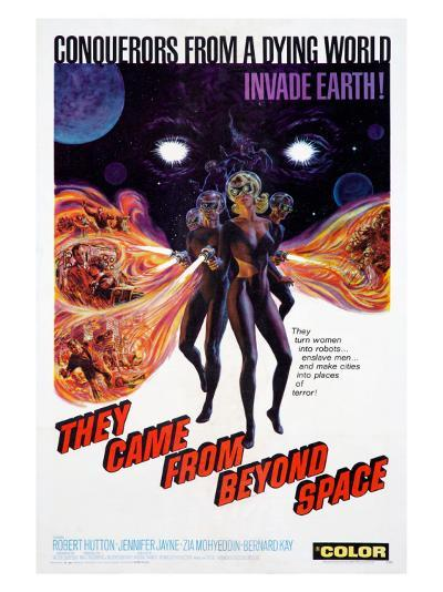They Came From Beyond Space--Giclee Print