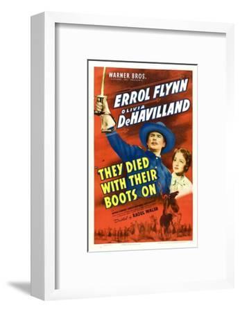 They Died With Their Boots On, Errol Flynn, Olivia De Havilland, 1941
