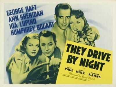 They Drive By Night, 1940--Art Print