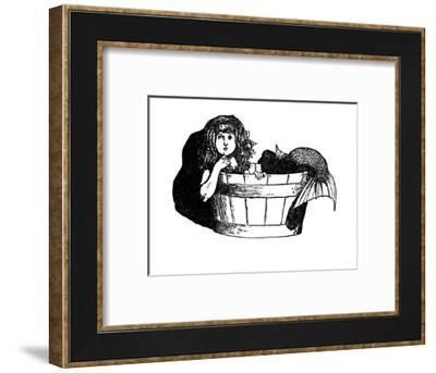 'They Felt Quite As If They Were At Home', c1930-W Heath Robinson-Framed Giclee Print
