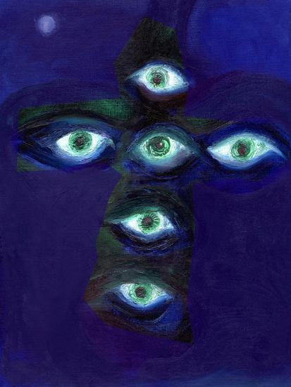 They Have Eyes and Shall Not See, 2015-Nancy Moniz Charalambous-Giclee Print