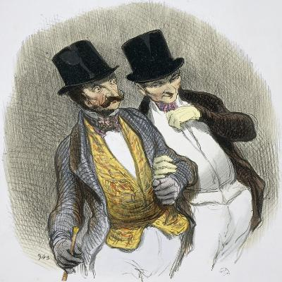 They Have Just Plucked Someone-Honore Daumier-Giclee Print