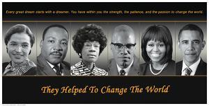 They Helped To Change The World