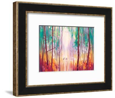 They Know-Gill Bustamante-Framed Art Print