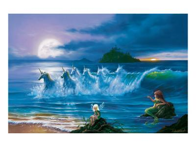 They Only Come Out at Night-Jim Warren-Premium Giclee Print