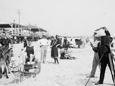 They Were on their Honeymoon, St. Augustine, Florida, 1900-05--Photographic Print