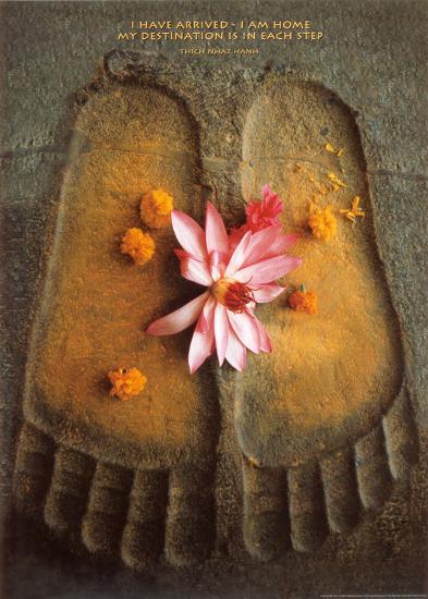 Thich Nath Hanh, I Have Arrived--Art Print